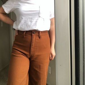 Madewell Emmett Wide-leg Crop Pants